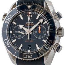 Omega Seamaster Planet Ocean Chronograph Acier 45mm Bleu