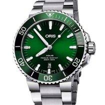 Oris 01 733 7732 4157-07 8 21 05PEB Steel 2020 Aquis Date 39.5mm new