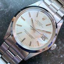 Rolex Oyster Perpetual Date Acier 34mm Argent