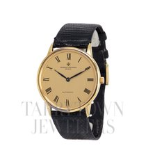 Vacheron Constantin Patrimony Yellow gold 34mm Champagne Roman numerals United States of America, New York, Hartsdale