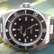Rolex Submariner (No Date) Stål 40mm Svart Ingen tall Norge, SON