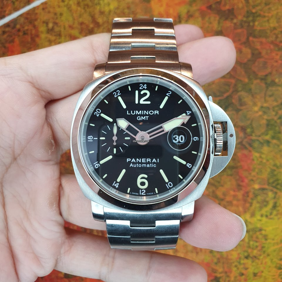 Panerai Luminor GMT Automatic PAM 00297 pre-owned