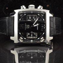 TAG Heuer Monaco Calibre 36 Steel 40,5mm Black