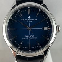 Baume & Mercier Steel 40mm Automatic M0A10467 new