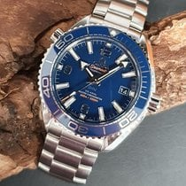 Omega Seamaster Planet Ocean Steel 39.5mm Blue Arabic numerals