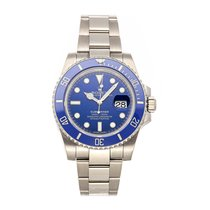 Rolex Submariner Date 116619LB Very good White gold 40mm Automatic