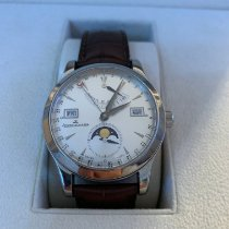 Jaeger-LeCoultre Master Calendar Steel 39mm Silver Arabic numerals United States of America, New Jersey, Edgewater
