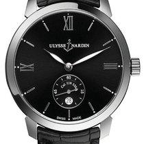 Ulysse Nardin Classico neu 2020 Automatik Uhr mit Original-Box und Original-Papieren 3203-136-2/32