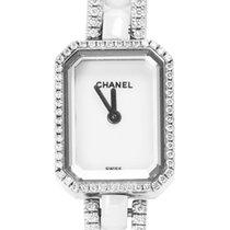 Chanel White gold Quartz 19.5mm pre-owned Première