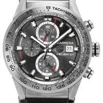TAG Heuer CAR208Z.FT6046 Titanium 2017 Carrera Calibre HEUER 01 43mm pre-owned