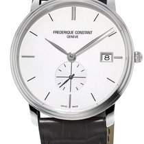 Frederique Constant Slimline Gents Steel 37mm Silver