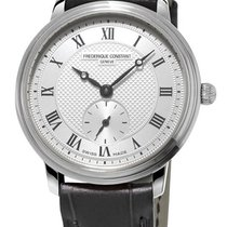 Frederique Constant FC-235M1S6 Steel 2021 Slimline Mid Size 28.6mm new