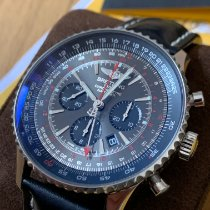Breitling Navitimer GMT Steel 48mm Grey No numerals