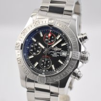 Breitling Avenger II Steel 43mm Black No numerals United States of America, Ohio, Mason