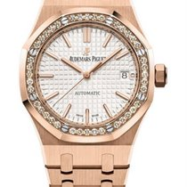 Audemars Piguet 15451OR.ZZ.1256OR.01 Rose gold 2017 Royal Oak Lady 37mm pre-owned United States of America, New York, New York