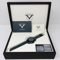 Visconti Steel 45mm Automatic KW51-02 new