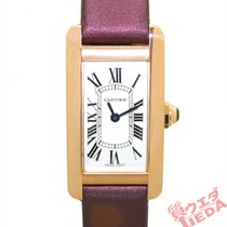 Cartier Tank Américaine Rose gold 35mm Silver