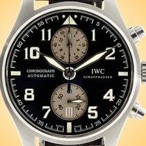 IWC Pilot Spitfire Chronograph Otel 43mm Maron
