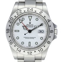 Rolex Explorer II Steel 40mm White United States of America, New York, New York
