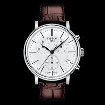 Tissot Carson nuevo 2020 Cuarzo Cronógrafo Reloj con estuche y documentos originales T122.417.16.011.00