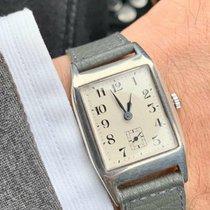 Rolex Silber Handaufzug 25mm gebraucht