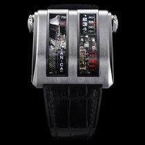Cabestan Titanium 48mm Handopwind CAB084 nieuw