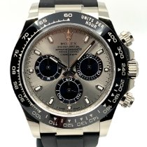 Rolex Daytona White gold 40mm Grey No numerals