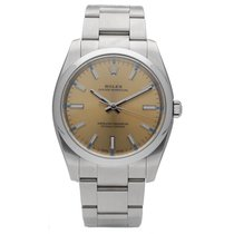 Rolex Oyster Perpetual 34 Acero 34mm Oro