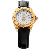 Breitling Cockpit Lady Yellow gold 31mm Mother of pearl Roman numerals United States of America, Florida, Sarasota