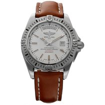 Breitling Galactic 44 Steel 42mm White United States of America, Florida, Sarasota