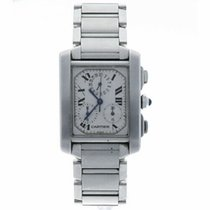 Cartier Tank Française Steel 28mm White United States of America, Florida, Sarasota