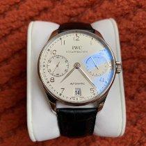 IWC Platinum Automatic White Arabic numerals 42mm new Portuguese Automatic