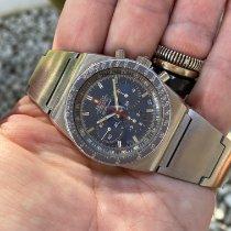 Zenith El Primero pre-owned 38mm Blue Chronograph Date Steel