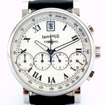 Eberhard & Co. Chrono 4 Steel 40mm White Roman numerals