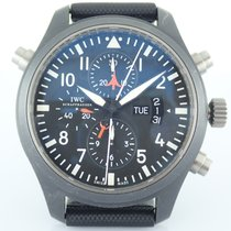 IWC IW377801 Acero Pilot Double Chronograph 46mm usados
