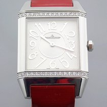 Jaeger-LeCoultre Reverso Squadra Lady Stahl 29mm Silber Arabisch