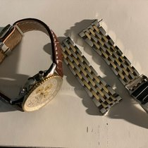 Breitling Navitimer Cosmonaute Acero y oro 41mm Blanco Arábigos España, Valencina de la Concepcion