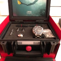 "Oris Regulateur ""Der Meistertaucher"" Titanium 49mm Black"