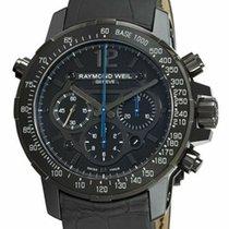 레이몬드 웨일 티타늄 46mm 자동 7810-BSF-05207 중고시계
