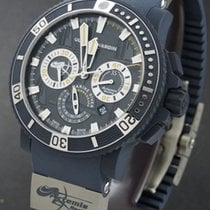 Ulysse Nardin Diver neu 2020 Automatik Chronograph Uhr mit Original-Box und Original-Papieren 353.98LE.3/ARTEMIS