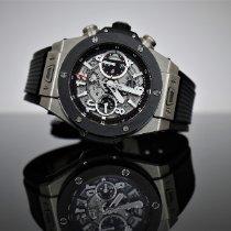 Hublot Big Bang Unico Titanium 45mm Black Arabic numerals