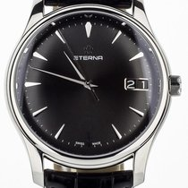 Eterna pre-owned Automatic 42mm Black Sapphire crystal 3 ATM