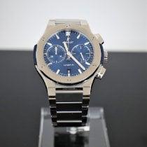 Hublot Classic Fusion Chronograph Titanium 45mm Blue No numerals