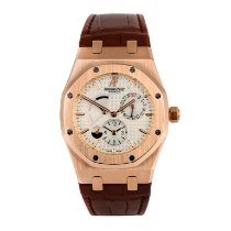Audemars Piguet Royal Oak Dual Time 26120OR.OO.D088CR.01 Odlično Ruzicasto zlato 39mm Automatika