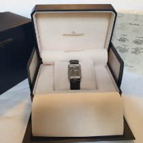 Jaeger-LeCoultre Reverso Duoface pre-owned 26mm Black GMT Leather