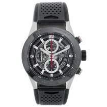TAG Heuer CAR2A1Z.FT6044 Titanium Carrera Calibre HEUER 01 45mm new United States of America, Texas, Dallas
