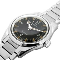 Omega Seamaster Railmaster Steel 38mm Black Arabic numerals
