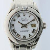 Rolex Lady-Datejust Pearlmaster Oro blanco 29mm Blanco Romanos España, Madrid