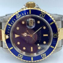 Rolex Submariner Date 16613 Very good Steel 40mm Automatic