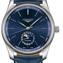 Longines Master Collection Stahl 40mm Blau